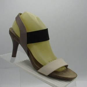 Anyi Lu Size 41.5/9 M Black Heel Sandals For Women